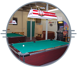 Pool table and games